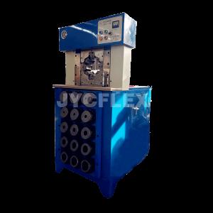 P150 hydraulic hose crimper