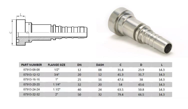 hydraulic fittings (4)